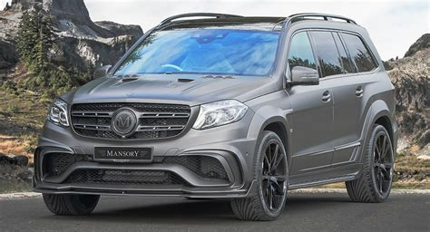 Mercedes Gls by Mansory S Widebody Mercedes Amg Gls 63 Slams 830 Hp To The