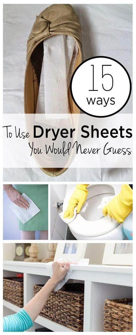 15 ways to use dryer sheets that you would never guess