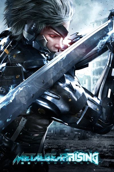 Metal Gear Rising Cover by Metal Gear Rising Cover Poster Sold At Europosters