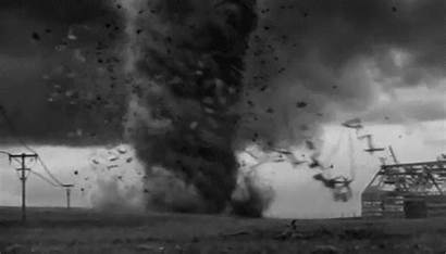 Tornado Oz Wizard Gifs Destroy Giphy Tornadoes