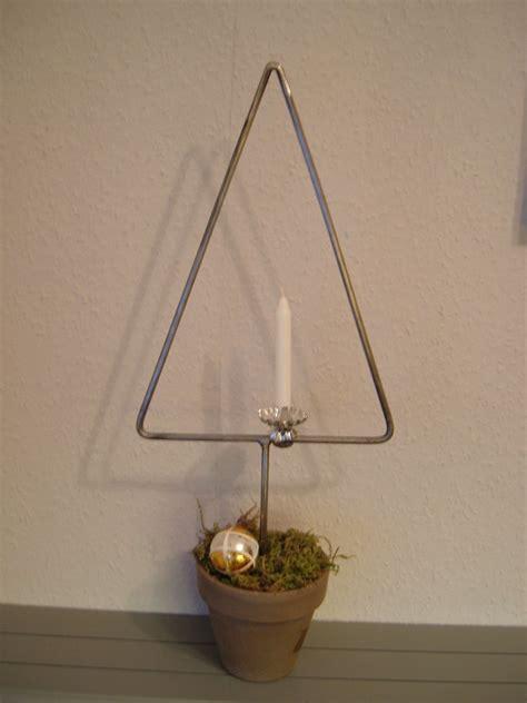 weihnachtsbaum aus metall inkl topf tannenbaum weihnachtsdeko tischdeko ohner dorfschmiede