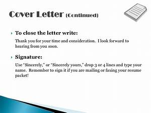 resume cover letters shows off your qualifications With i look forward to hearing from you soon cover letter