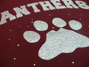 Maroon Panther Paw