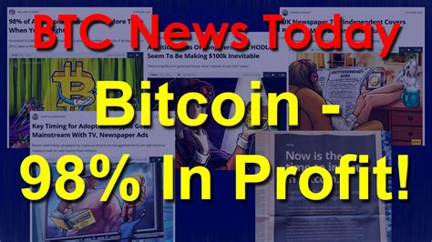 We bring you expert and unbiased opinions on bitcoin and cryptocurrency trading and. BTC News Today 2020: Bitcoin - 98% In Profit!   Lumin8 Crypto