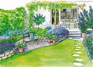 Wie Setze Ich Einen Zaun : ideen f r einen reihenhausgarten g rten beautiful und ~ Articles-book.com Haus und Dekorationen