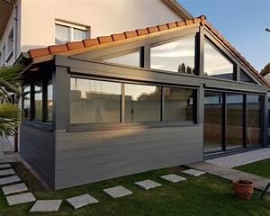 Extension Ossature Bois : extension ossature bois bardage composite 28 m2 ~ Melissatoandfro.com Idées de Décoration