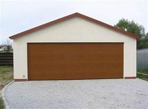 Garage 2 Voitures : garage m tallique 2 pentes cr pis 2 voitures porte large ~ Melissatoandfro.com Idées de Décoration