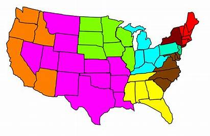States Clip United Clipart Map Usa America