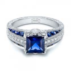 engagement rings sapphire sapphire engagement rings custom design rings in bellevue and seattle