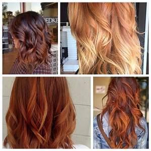 Ombré Hair Auburn : ombre combined with an amazing hair color ideas hair world magazine ~ Dode.kayakingforconservation.com Idées de Décoration
