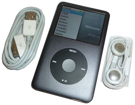 ipod classic 160gb apple ipod classic 160gb grey 7th fully refurbished