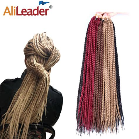 Alileader 8 Spring Twist Braiding Hair Synthetic Crochet