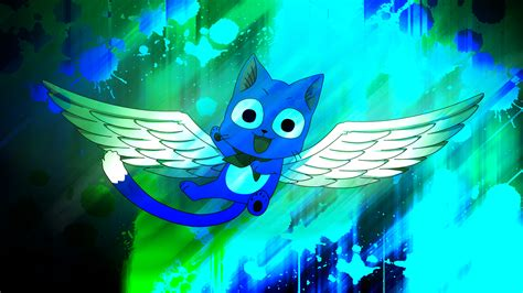 fairy tail happy  exceed wallpaper p  enemyd
