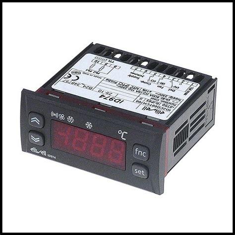 chambre froide livre thermostat régulateur électronique 3 relais eliwell id974