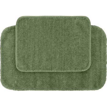 traditional nylon  piece washable bathroom rug set walmartcom