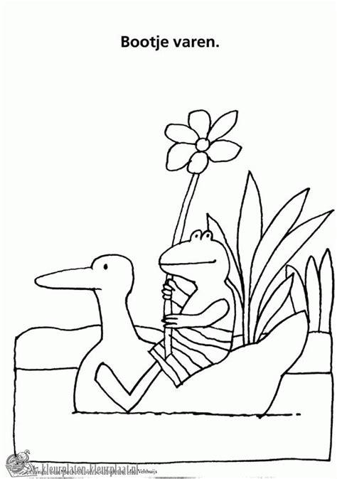 Kleurplaat Kikker En Vriendjes by Kleurplaat Kikker Thema Kikkers Kleurplaten Eenden