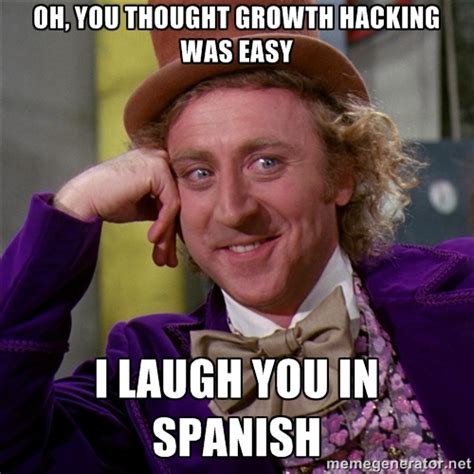 Hacker Memes - the three step process for growth hacking anything the experiment
