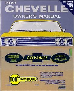 1967 Chevy Repair Shop Manual Reprint