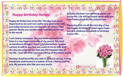 sample birthday letter  boyfriend birthday letters