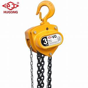 China Hsz-cd Hugo Hoist Manual Chain Block