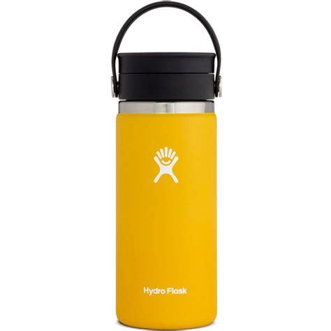 Compatible con nuestra tapa flexible de boca ancha, tapa hydro flip ™ y tapa de boca ancha. Hydro Flask 16 oz Coffee with Flex Sip Lid