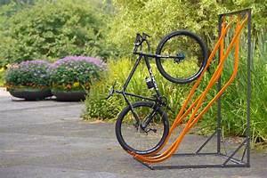 Fahrradständer Selber Bauen : fahrradst nder als schr ghochparker wand o freistehend amsdirekt ~ One.caynefoto.club Haus und Dekorationen