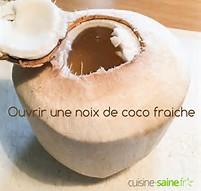 Résultat d'images pour noix de coco fraîches images