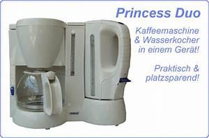 Kaffeemaschine Und Wasserkocher In Einem Gerät : princess duo kaffeemaschine wasserkocher in einem ger t ~ Michelbontemps.com Haus und Dekorationen