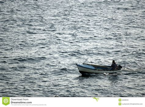 small sea small fishing boat stock photography cartoondealer com 998102