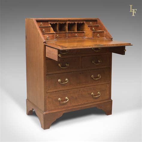 ebay bureau edwardian antique bureau mahogany oak desk