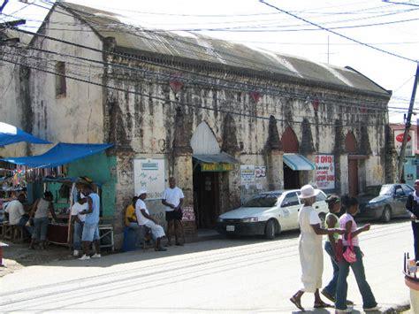 lucea jamaica church and warehouse photographs