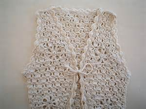 Free Easy Crochet Long Vest Pattern