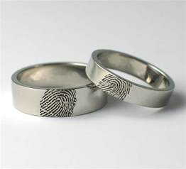 wedding band linh 39 s the wedding band is a fingerprint ring which is engraved with your