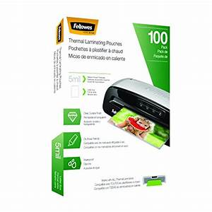 fellowes laminating pouches letter size 5 mil 100 pack With fellowes letter size laminating pouches 5 mil 150 pack