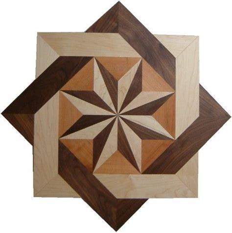 wood floor inlay  pretty cool stuff
