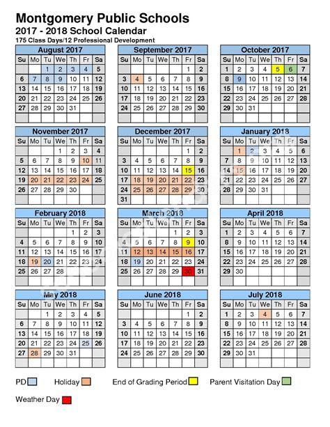 montgomery county public school calendar qualads
