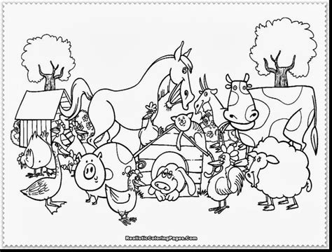 free coloring pages for adults free printable color pages farm animals the jinni 6594