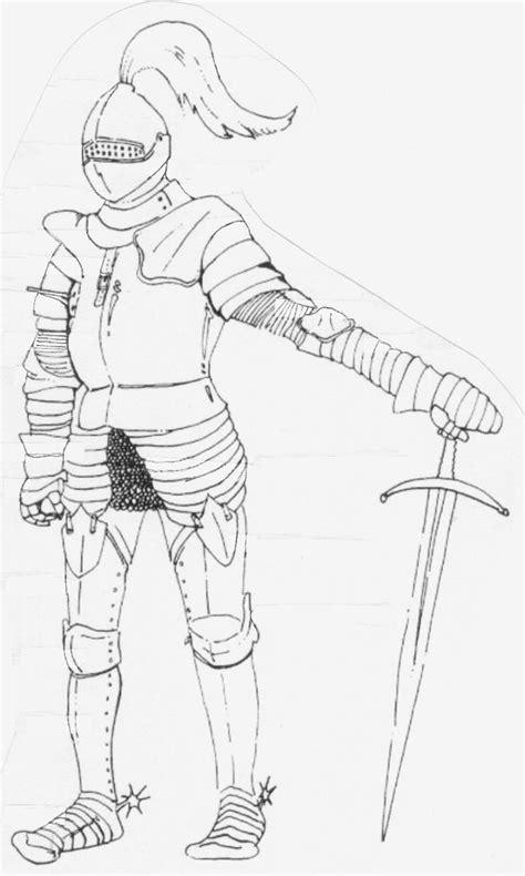 Kleurplaat Ridder En Jonkvrouw by Ridders En Kastelen Los Castillos Kastelen Ridders