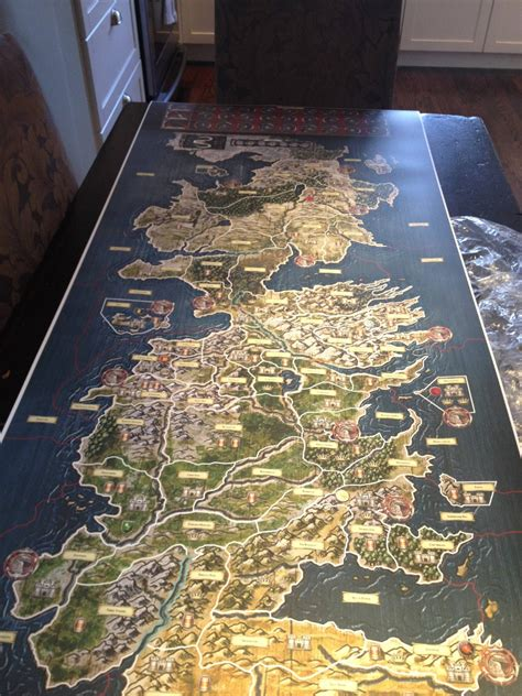 custom  game  thrones board game expansions