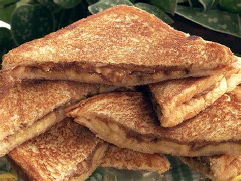Paula's Fried Peanut Butter And Banana Sandwich Recipe  Paula Deen  Food Network