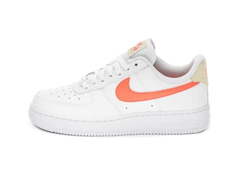nike wmns air force    white atomic pink fossil white  kaufen asphaltgold