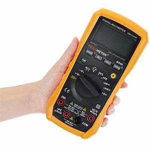 Peakmeter Ms88 Digital Multimeter 4000 Counts Auto Manual