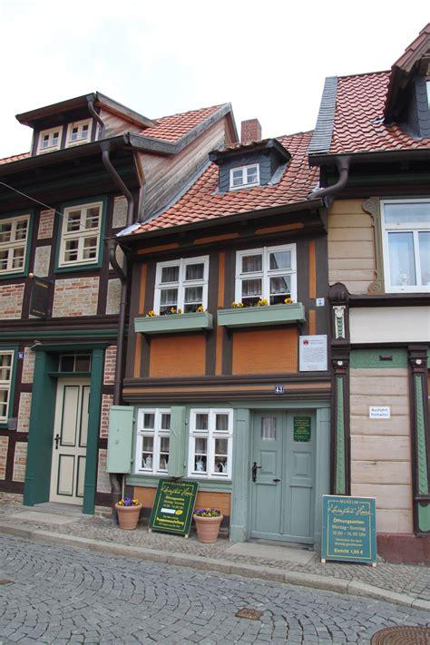 Kleinstes Haus In Wernigerode  Duitsland  Reizen & Reistips