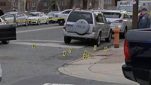 A driver allegedly trying to run people over is shot by an ...