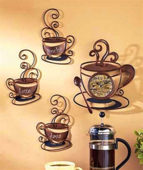 Kitchen Metal Wall Uk by Decorative Metal Coffee Collection Metal Wall