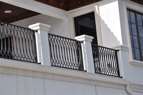Exterior Balcony Iron Railing Designs — BALCONY IDEAS