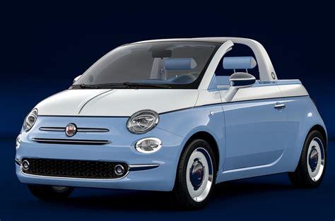 Fiat Garage by Fiat 500 Spiaggina By Garage Italia Is Coachbuilt Nod To