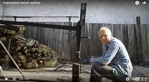 12 Homemade Log Splitters That Make Cutting Of Firewood