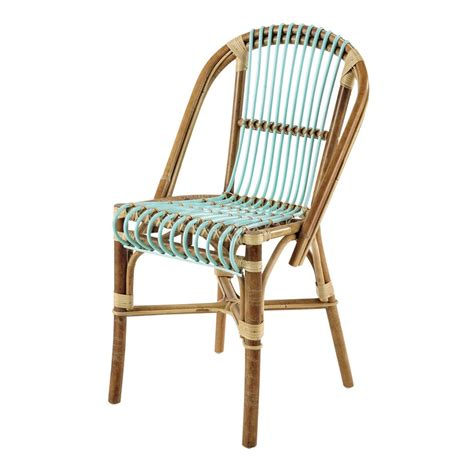 maisons du monde chaise rattan vintage chair in sea green florida maisons du monde