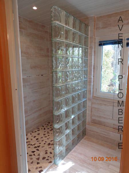 salle de bain pave de verre cr 233 ation et installation de salle de bain val d oise 95